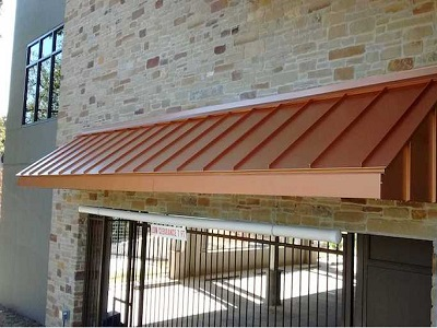 Commercial Building Awning