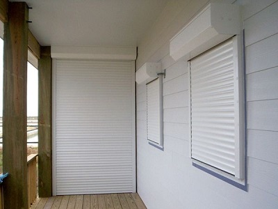 Remote Controlled Hurricane Shutters