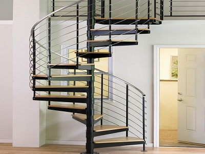 Spiral Stainless Steel Railing